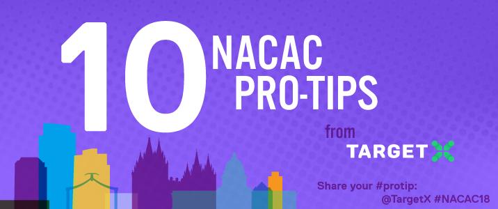10 NACAC pro-tips